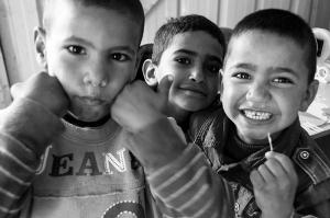FOTO DE CLARA LÓPEZ en el poblado de Wadi Abu Hindi, Jerusalén zona C