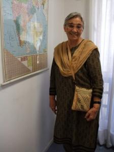 La hermana Lucía Carabias. Foto Marta Isabel González/Manos Unidas