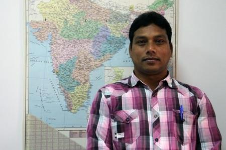 Father Manoj, director de Jana Vikas-Foto IreneH-Sanjuan/Manos Unidas