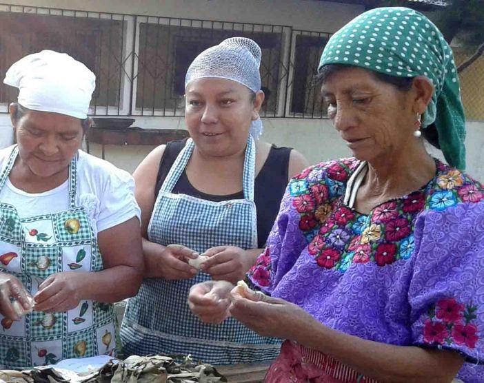 Mujeres del MTC-Movimiento de Trabajadoras Campesijnas de Guatemala. Foto Raquel Carballo/Manos Unidas