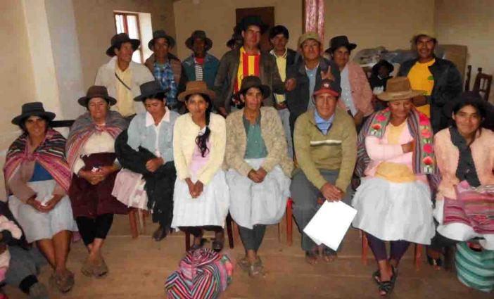 Mujeres ayacuchanas beneficiarias de este proyecto de Manos Unidas y la Junta de Andalucía- Foto SER Perú/Manos Unidas