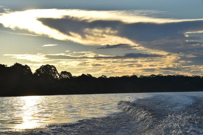 El río Amazonas entre Colombia, Perú y Brasil. Foto. Marta Isabel González Álvarez/CIDSE & REPAM