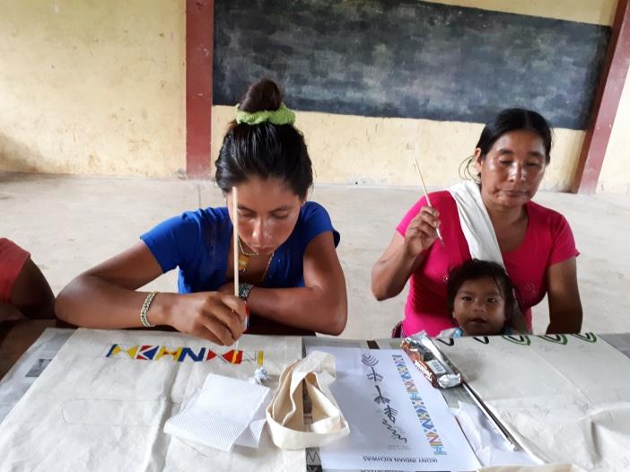 Mujeres de la amazonía peruana. foto Domi Szkatula