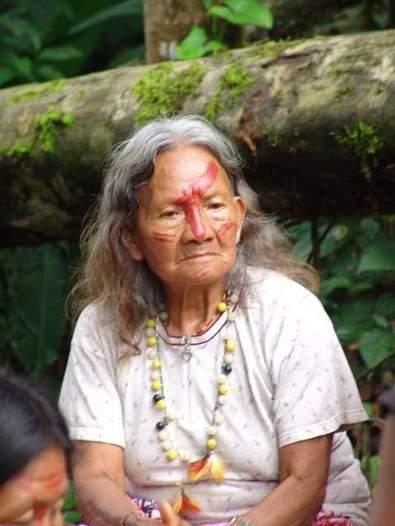 Una mujer secoya. Foto Domi Szkatula