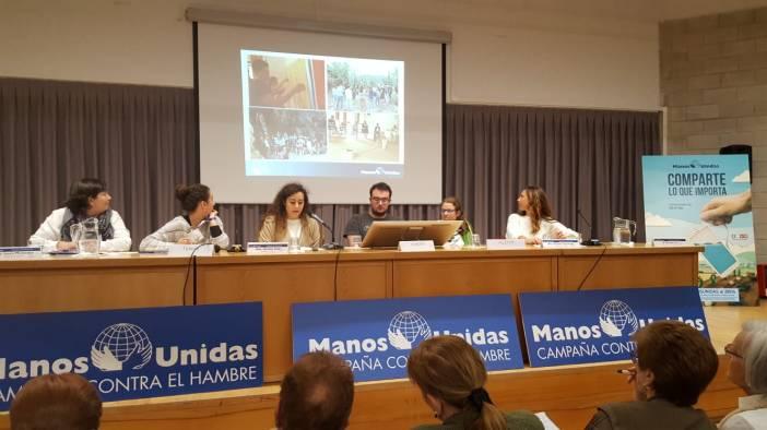 Intervención de los Jóvenes de Manos Unidas en las Jornadas de Formación de 2018 en El Escorial