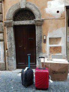 Por fin llegué a mi destino en Roma. La mudanza más interesante de mi vida. Foto @migasocial